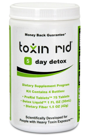 5 day thc detox kit with pills, detox drinks and fiber
